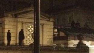 Fathers' rights activists arrested after scaling roof at Buckingham Palace