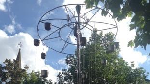 Art installation in Aylesbury