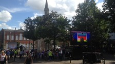 A busy Aylesbury waits for Paralympic flame