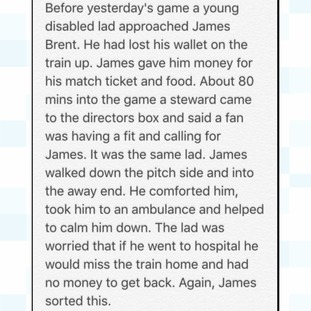 Chris Webb posted this touching story on Twitter