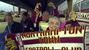 Cobblers fans celebrated the Kelvin Thomas takeover news.