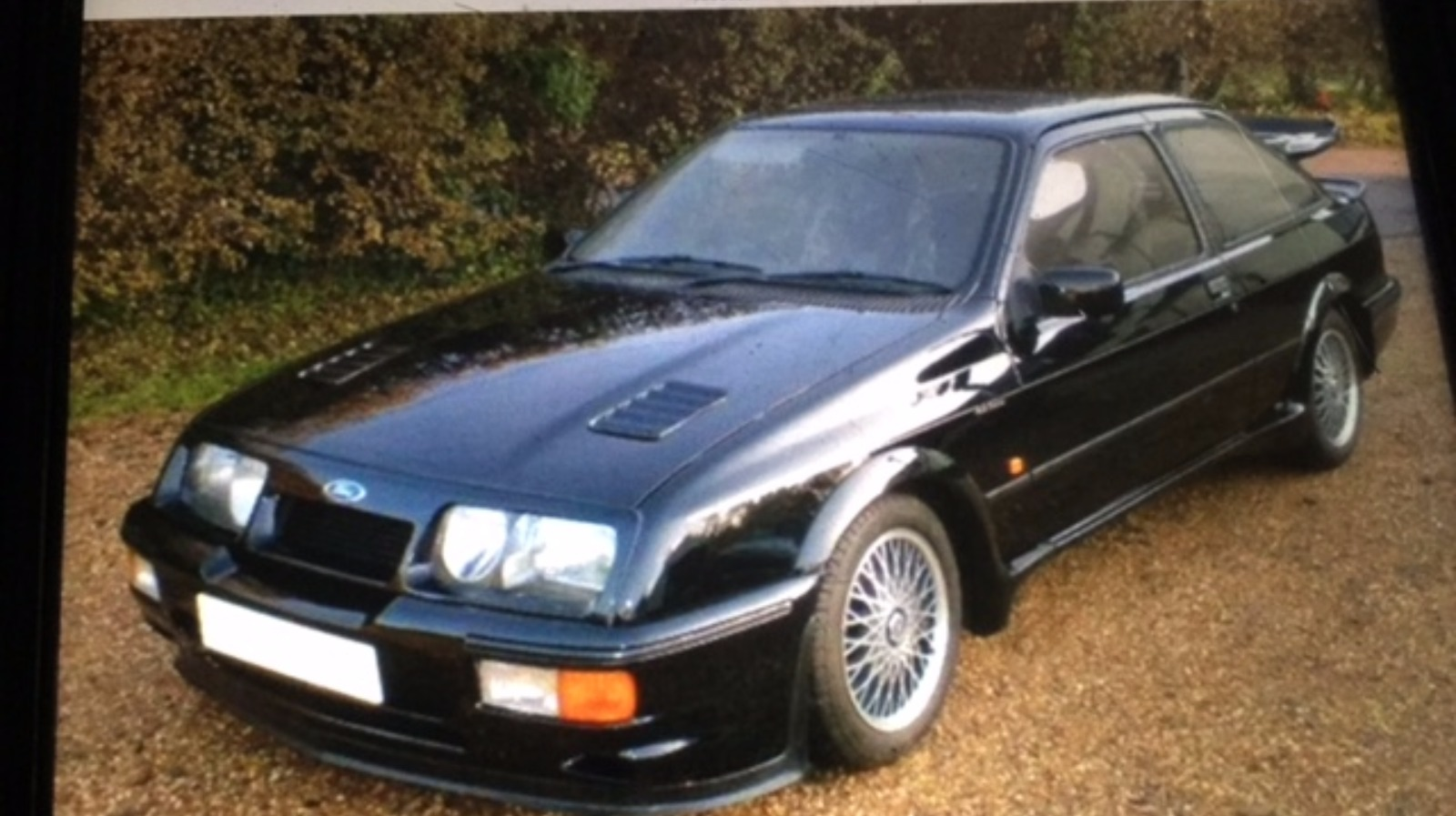 Gutted Owner Spots His Burnt Out Ford Cosworth On Social