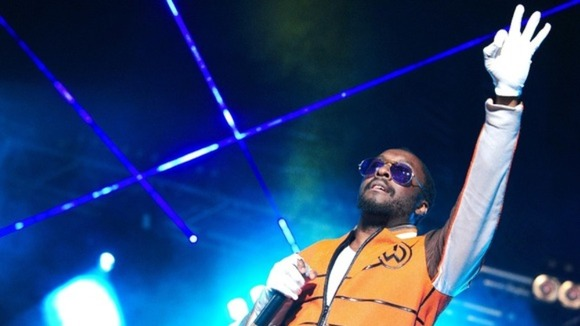 Will.i.am performs at Radio 1&#x27;s Hackney Weekend,