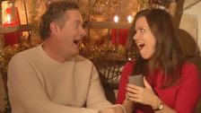 Piers Morgan gives Susannah Reid a gift