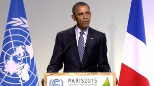 President Obama at the UN Climate Conference