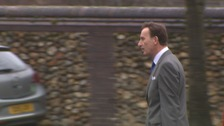 Firearms dealer Anthony Buckland who is on trial at Norwich Crown Court