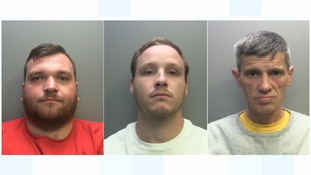 Scott Croxford, Robert Smith and Steven Smith have been jailed for a total of 16 years