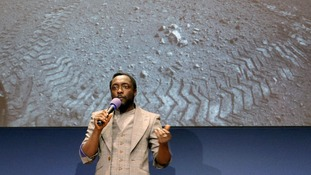 New Will.i.am song makes interplanetary debut