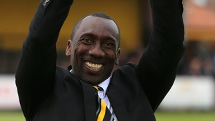 Jimmy Floyd Hasselbaink has enjoyed a lot of success at Burton Albion