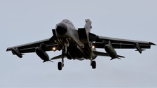 Airstrikes could be launched within hours of a Yes vote