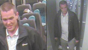 Appeal after train passenger threatened to break guard's neck say police