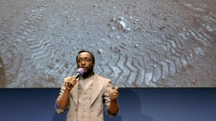 New Will.i.am song beamed in debut from Mars