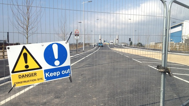 Twin Sails Bridge closed