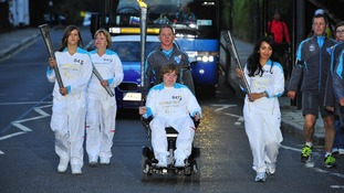 Paralympic Torch reaches London