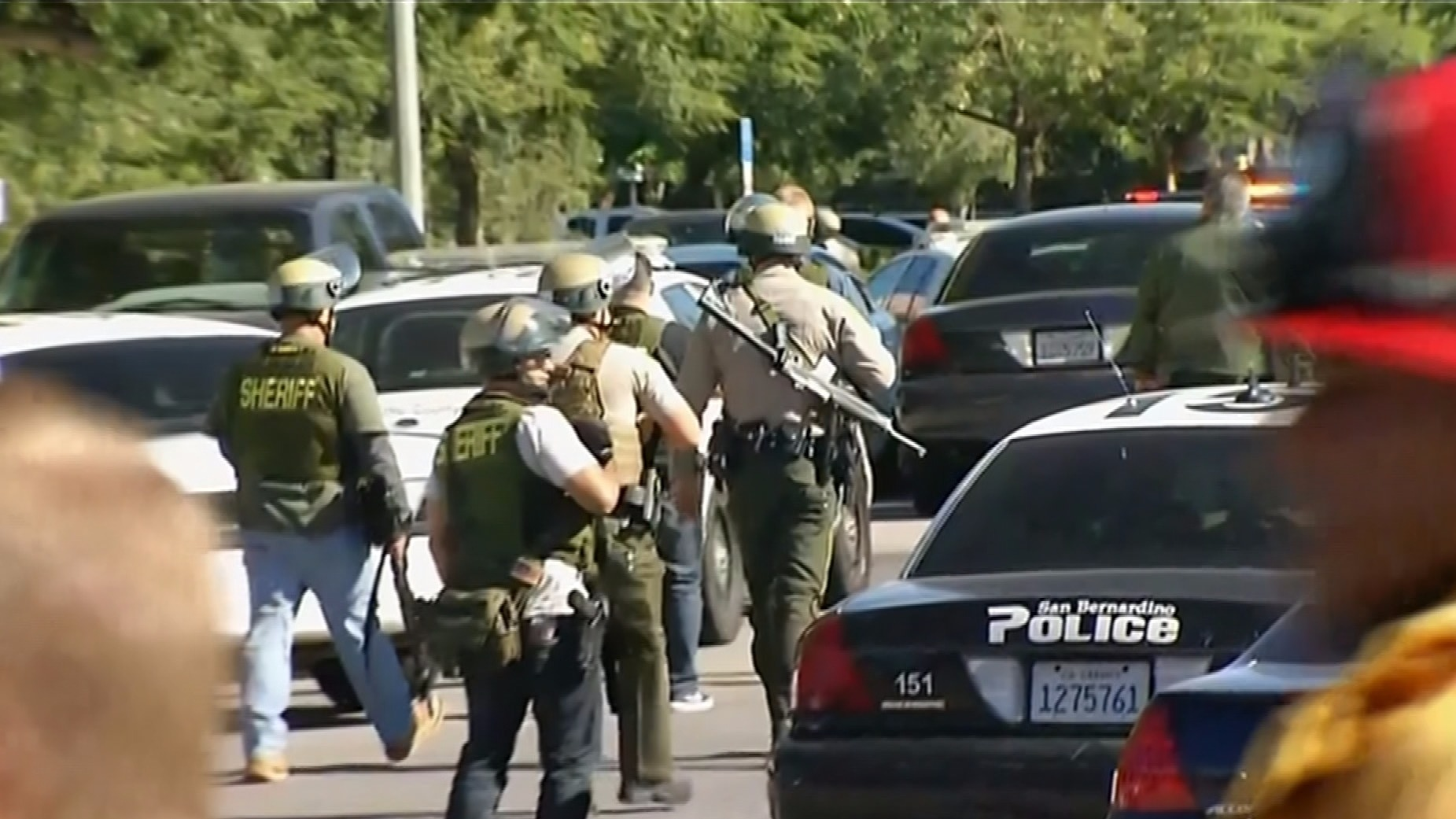 Shooting Update: California Shooting Suspects 'in Military-style Attire