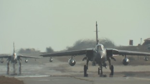 RAF aircraft could take off from Cyprus with the hour