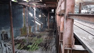 Ice factory interior