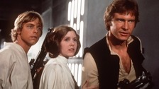 Harrison Ford: Star Wars 'another day in the office'.