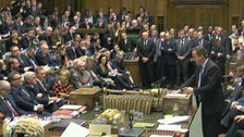 MPs voted by 397 votes to 223 in favour of extending British air strikes against ISIL to Syria.