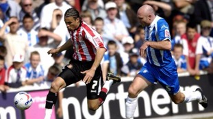 Wayne Brown in action for Colchester United.