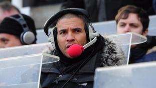 Former footballer Stan Collymore now works as a broadcaster.