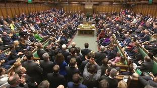 MPs in last night's historic vote