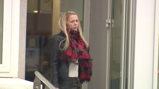 Melanie Harris has denied defrauding a man she was supposed to be caring for.