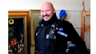 PC Andy Hocking died suddenly in March.