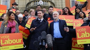 Jeremy Corbyn hails Oldham by-election win as a 'vote of confidence' for Labour