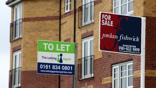 The North West recorded the biggest year-on-year fall in house prices.