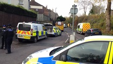 The police standoff has been going on since yesterday evening.