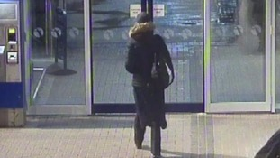 A possible sighting of Alicja at Penzance Station last month.