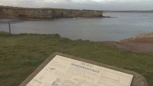 South Shields cliff fall victim rescued by lifeboat