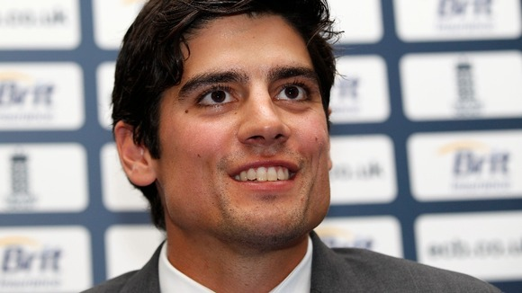 Cook to lead England