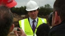George Osborne on Wearside
