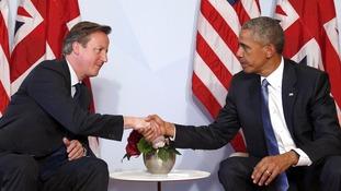 David Cameron and Barack Obama spoke on Friday.