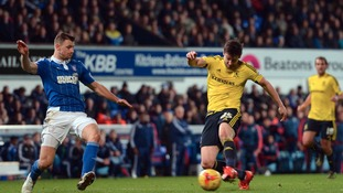 Middlesbrough's David Nugent scores their second goal