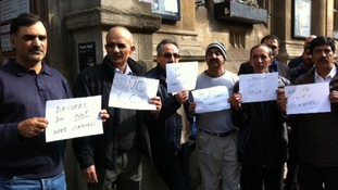 Oxford taxi drivers petition