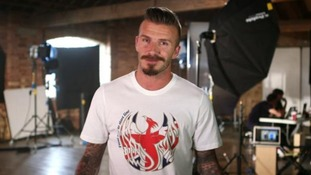 David Beckham sends Paralympic message to troops