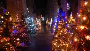 The church in Melton Mowbray has 1254 trees this year.