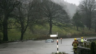 The floods in Cumbria