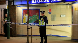 The stabbings took place just after 7pm at Leytonstone tube station.