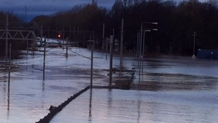 West Coast railway will remain closed for several days after eight feet of water flooded the line
