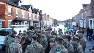 The Army continue to aid flood rescue efforts in Carlisle