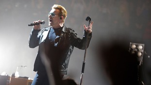 U2 honour victims of Paris and California terror attacks