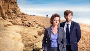Olivia Colman has ruled out any hint of a romance between her character and David Tennant's