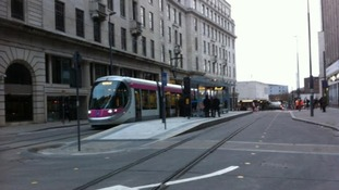 Midland Metro extension into Bull Street