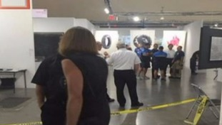 Witnesses thought art gallery stabbing 'was a performance exhibit'