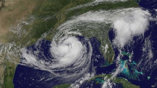 Hurricane Isaac pictured from space by NASA