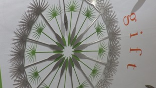 Dandelion art work